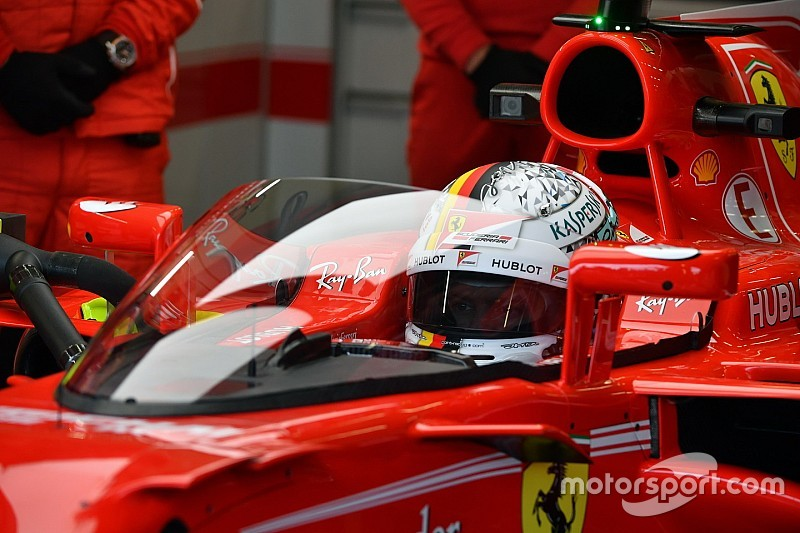 Shield membuat pusing Vettel