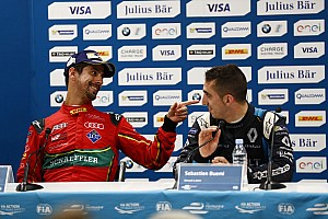 """Formula E Reactions Buemi: """"Di Grassi? Bravo sì, ma parla un po' troppo"""""""