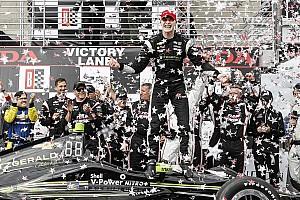 IndyCar Reporte de la carrera Newgarden brilla y obtiene su primer triunfo con Penske