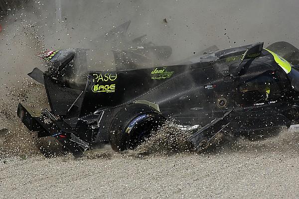 Европейский Ле-Ман Новость Фото: крупная авария на тестах ELMS в Монце