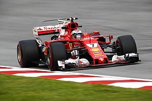 Formel 1 Trainingsbericht Formel 1 2017 in Sepang: Schrecksekunde bei Ferrari-Bestzeit