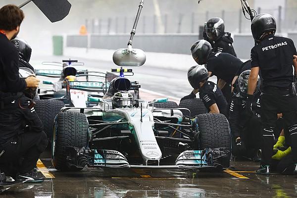 Monza'da pitlerin en hızlısı Mercedes oldu