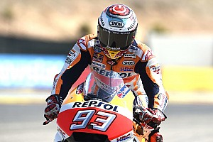Aragon, Warm-Up: Marquez al top, Rossi nono e le Ducati indietro