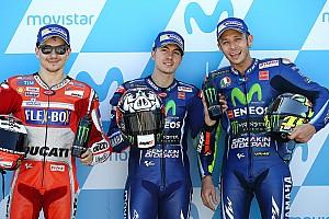 MotoGP Resultados La parrilla de salida del GP de Aragón