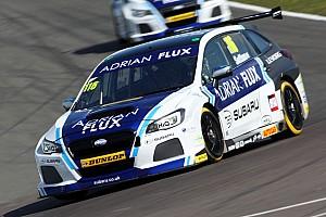 BTCC Qualifying report Donington BTCC: Sutton takes shock pole for Subaru