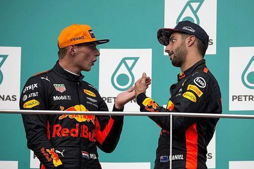 Verstappen questiona decisão de Ricciardo de ir para Renault
