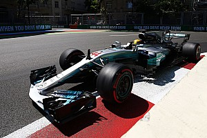 Azerbaijan GP: Hamilton storms to pole as Mercedes dominates