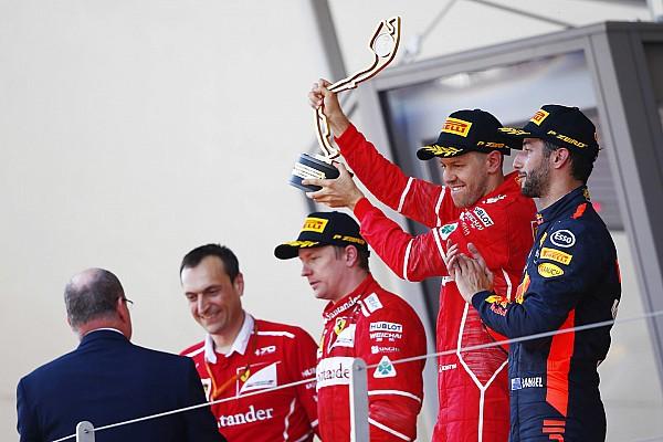 F1 Noticias de última hora La cara de Raikkonen en el podio lo dijo todo