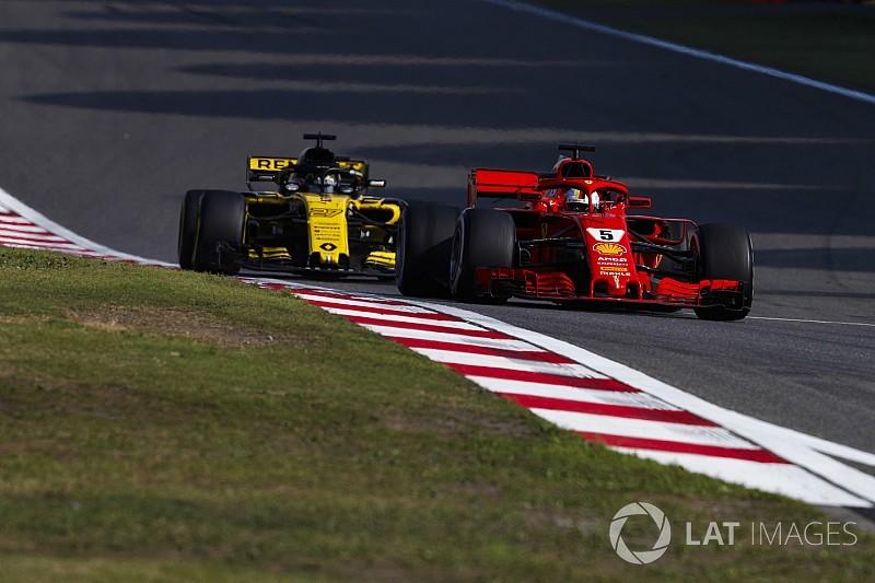 """Renault sente que foi """"menos inteligente"""" que times de ponta"""
