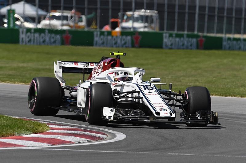 2017'ye kıyasla Kanada'da en çok Sauber gelişti, Williams geriledi