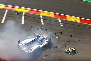 WEC Breaking news Fittipaldi suffers suspected leg fractures in Spa WEC crash