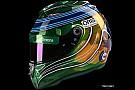 F1 GALERÍA: el último casco de F1 de Felipe Massa