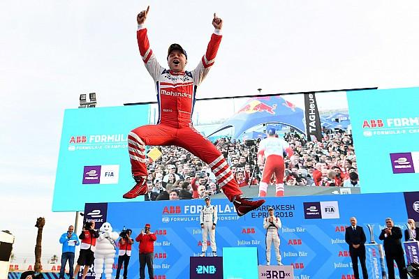 Formel E Endlich Erster: Mahindra begleicht