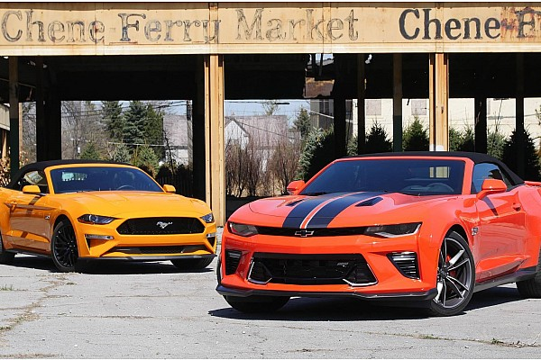 Automotive Breaking news Chevy Camaro SS vs. Ford Mustang GT: top-down tussle