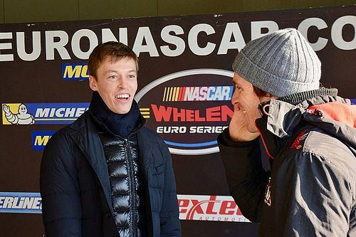 Kvyat participa en un test de la Euro Series NASCAR
