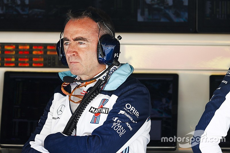 Tech chief Paddy Lowe takes 'leave' from Williams F1 team
