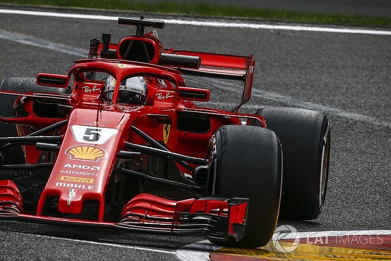 Spa, Libere 3: Ferrari davanti con Vettel e Raikkonen. Hamilton a un decimo