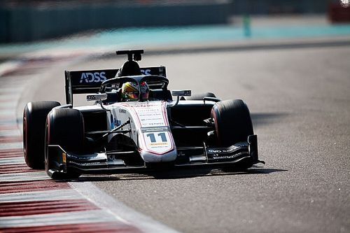 Deletraz edges ART rookies on first day of F2 test