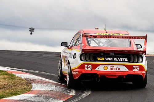 Supercars Mustang rear wing altered for 2020