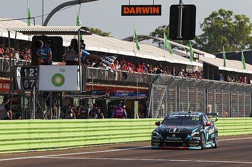 Darwin Supercars: Mostert wins opener, slow stop denies van Gisbergen