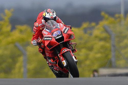 MotoGPフランスFP1:ミラー、2連勝に向けトップタイムで好発進。母国戦ザルコ2番手