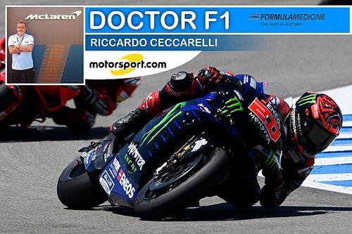 """Ceccarelli: """"Un allarme per la MotoGP il guaio di Quartararo"""""""