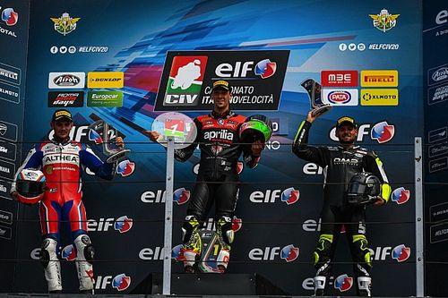 ELF CIV: Savadori vince in SBK, doppietta per Zannoni in Moto3