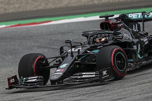F1, GP Austria, Libere 2: due Mercedes più quella Rosa