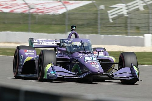 """Grosjean """"super happy"""" with P7 for IndyCar Series debut"""