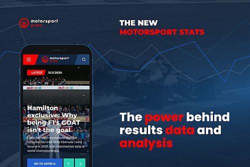 Motorsport Stats relanza su sitio web con novedades