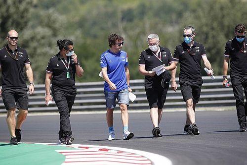 Alonso: Será más difícil sumar puntos en Hungría