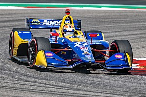 COTA IndyCar: Rossi leads FP3 as Ericsson crashes