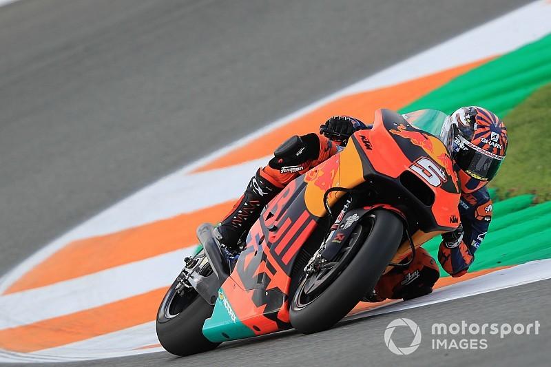 Johann Zarcos erster Tag bei KTM:
