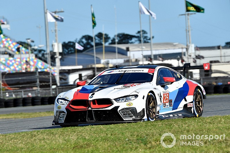 """BMW """"in the hunt"""" for Rolex 24 victory, says Rahal"""