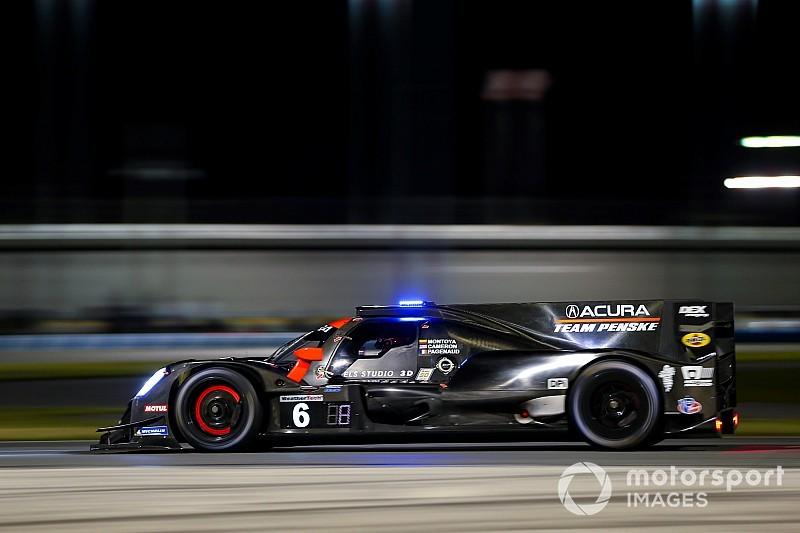 Acura lidera después de 9 horas con Montoya en segundo