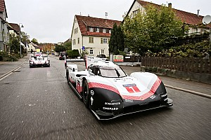 Webber maneja el 919 Evo en su Tributo Final