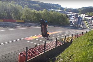 WEC Noticias Vídeo: El impresionante vuelo en el accidente de Isaakyan en Spa