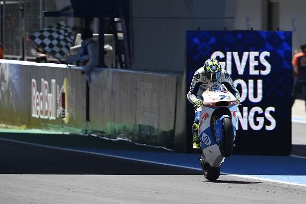 Moto2 Spanyol: Baldassarri dominan, Marquez gagal finis