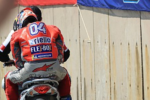 "MotoGP Breaking news Dovizioso: ""Unacceptable"" mistakes will cost me title shot"