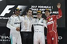 GP Abu Dhabi: Bottas menang, Mercedes dominan di penutup F1 2017