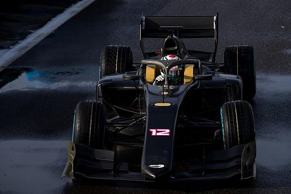 FIA F2 速報ニュース 新世代マシン導入でハロ搭載のF2、マニクールでシェイクダウン実施