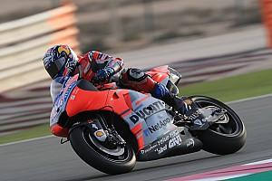 MotoGP Trainingsbericht MotoGP-Auftakt in Katar: Dovizioso Schnellster, Rossi Zweiter