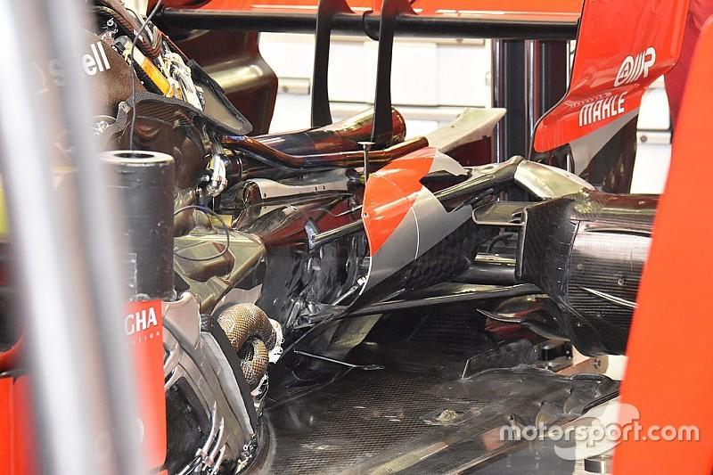 Igazi mestermunka a Ferrari SF71H hátuljának kialakítása