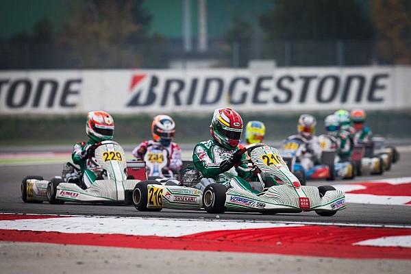 Kart Vidales, 3º en el primer fin de semana de la WSK Final Cup