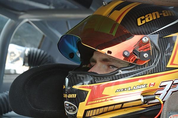 NASCAR Canada Rain puts Alex Labbé on pole