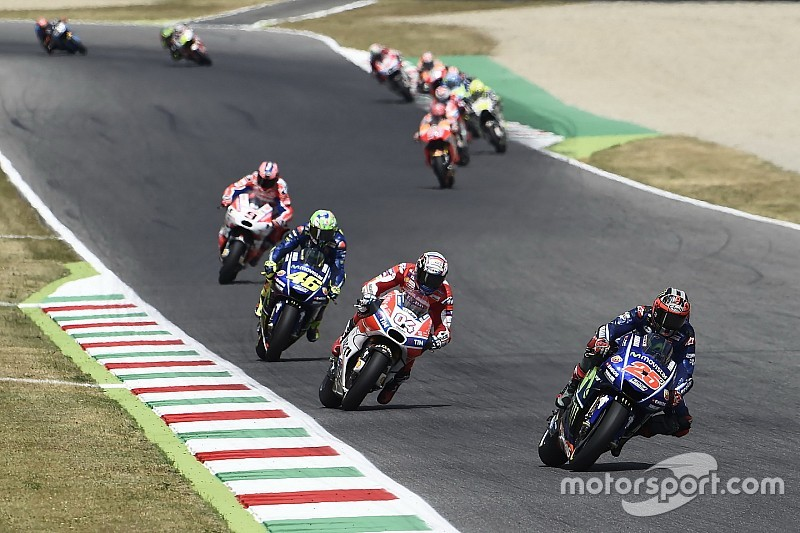 【MotoGP】2位ビニャーレス「今日はドヴィツィオーゾの日だった」