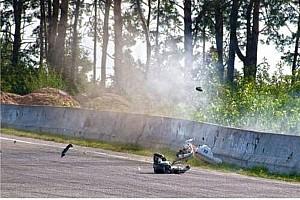 UASBK Важливі новини Четвертий етап UASBK: шокуюче відео аварії Дорошенка