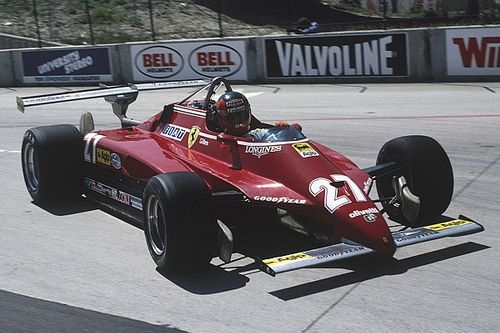 Le mitiche Ferrari di F.1: 126 C2 con la provocazione dell'ala doppia!