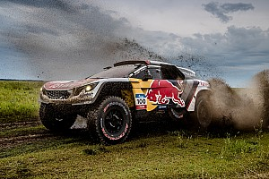 Rallye-Raid Rapport d'étape Étape 5 - Despres plus fort que... les camions