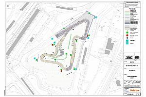 World Rallycross Son dakika Silverstone, 2018 Dünya Rallikros pisti düzenini sergiledi